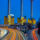 Power station and highway at night - PhotoDune Item for Sale