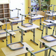 Empty classroom during a pandemic - PhotoDune Item for Sale