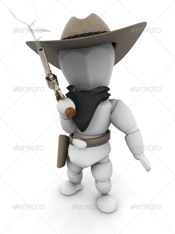 Bandit - Characters 3D Renders