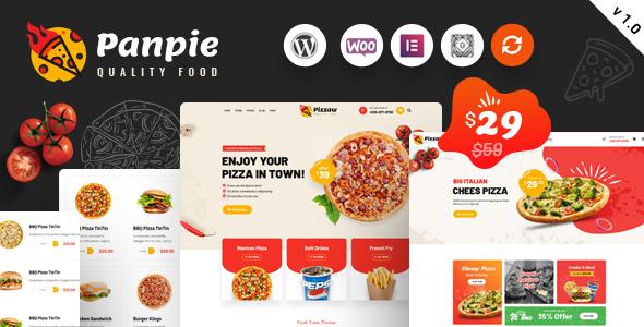 Panpie - Restaurant WordPress Theme