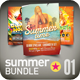 Summer Flyer Bundle | 002 - GraphicRiver Item for Sale
