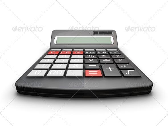 Calculator - Technology 3D Renders