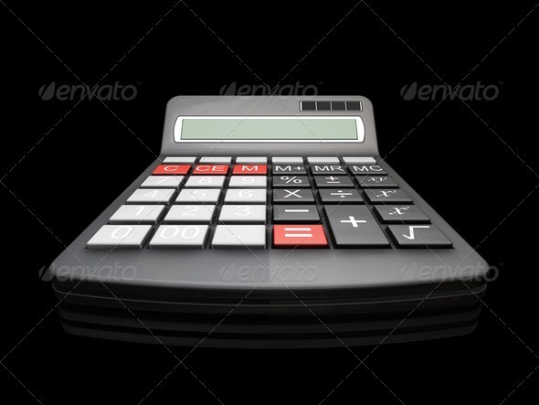 Calculator - Technology 3D Renders
