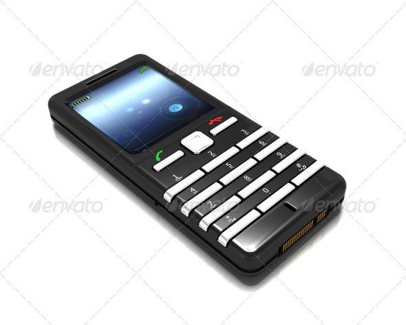 Cellphone - Technology 3D Renders