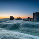 A frosty dawn over the old church at Knowlton - PhotoDune Item for Sale