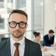 Handsome legal practitioner in meeting room - PhotoDune Item for Sale