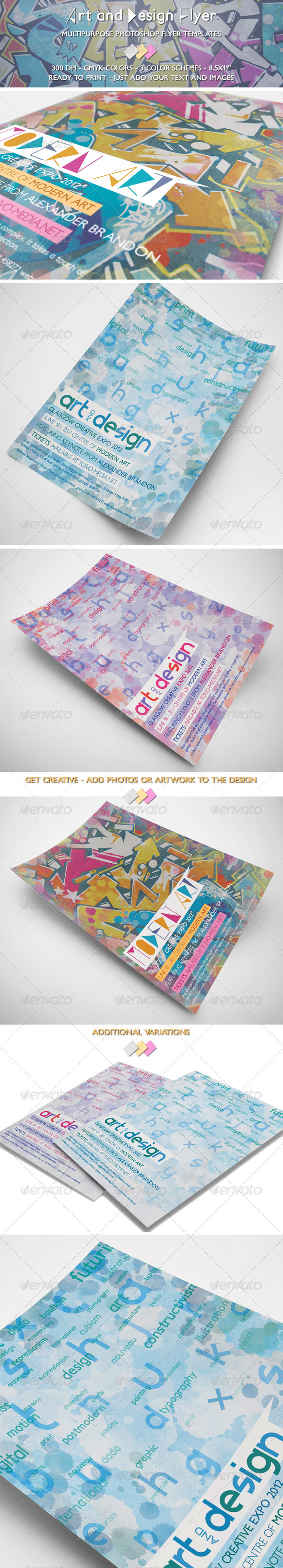 Art and Design Flyer - Miscellaneous Events