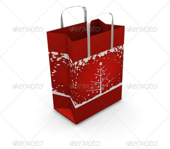 Shopping bag - Objects 3D Renders