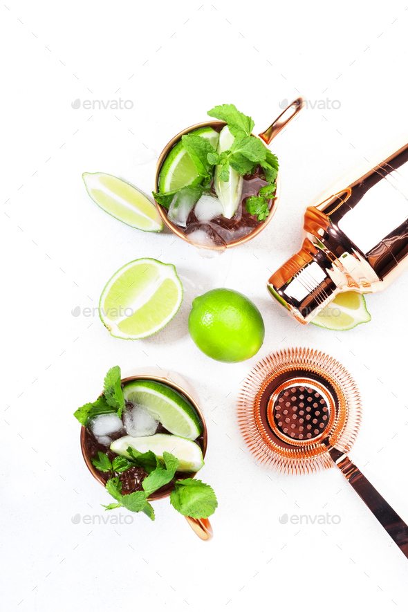 Moscow mule - Stock Photo - Images