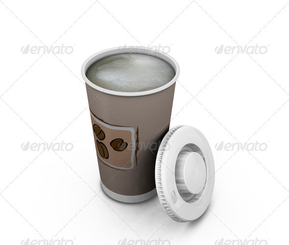 Cup of coffee - Objects 3D Renders