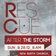 Rescue After The Storm Church Flyer Template - GraphicRiver Item for Sale
