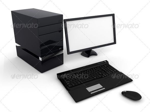 Computer - Technology 3D Renders