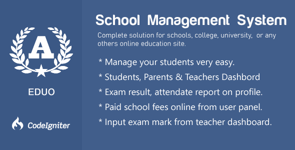 Eduo - School Management System