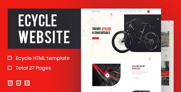 ECycle - Creative HTML Template