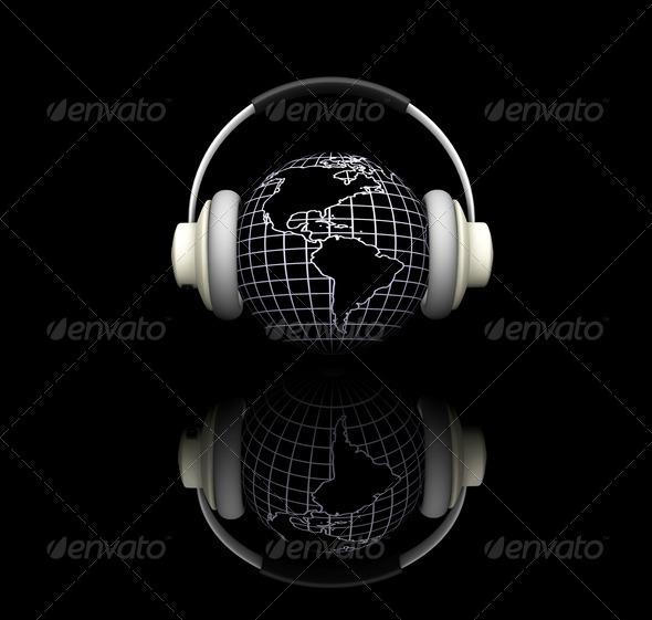 World music - Technology 3D Renders