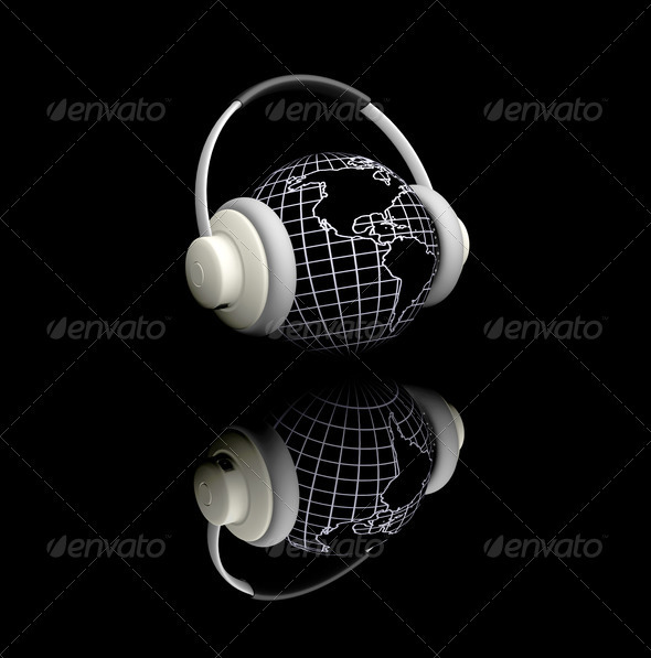 World music - Technology 3D Renders