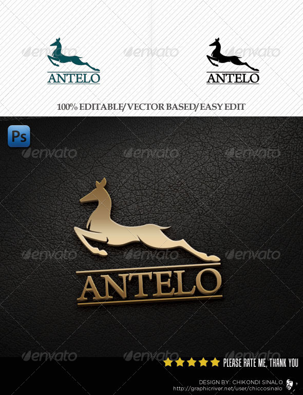 Antelo Logo Template - Abstract Logo Templates