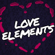 Love Elements // Mogrt - VideoHive Item for Sale