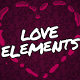 Love Elements // Filnal Cut Pro - VideoHive Item for Sale