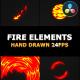 Cartoon Fire FX | DaVinci Resolve - VideoHive Item for Sale