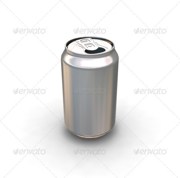 Soda can - Objects 3D Renders