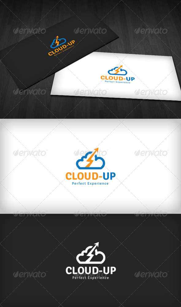 Cloud-UP Logo - Symbols Logo Templates