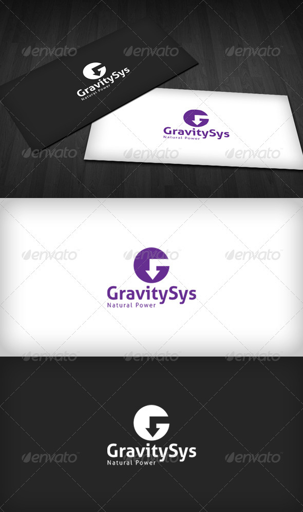 Gravity Sys Logo - Letters Logo Templates