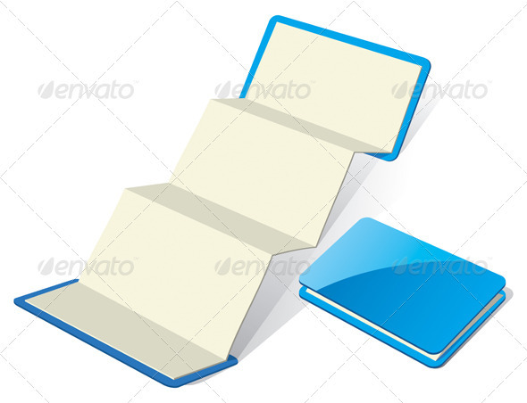 Blank Z-Card Template - Miscellaneous Vectors