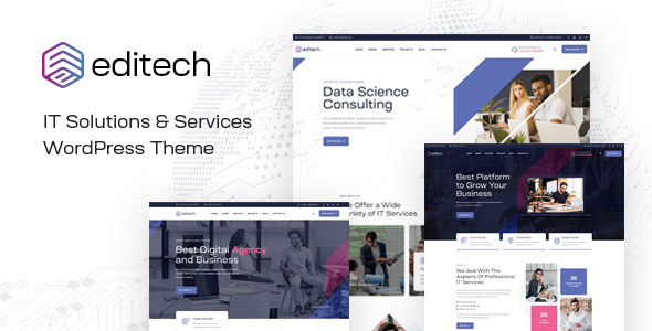 Editech - Corporate Business WordPress Theme