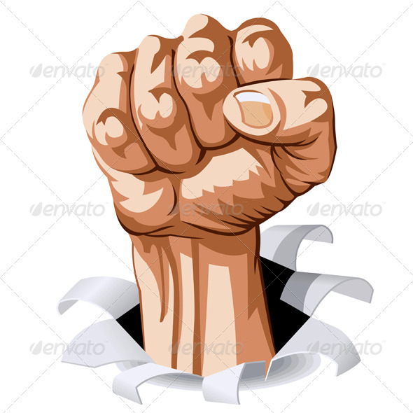 Man Fist - People Characters