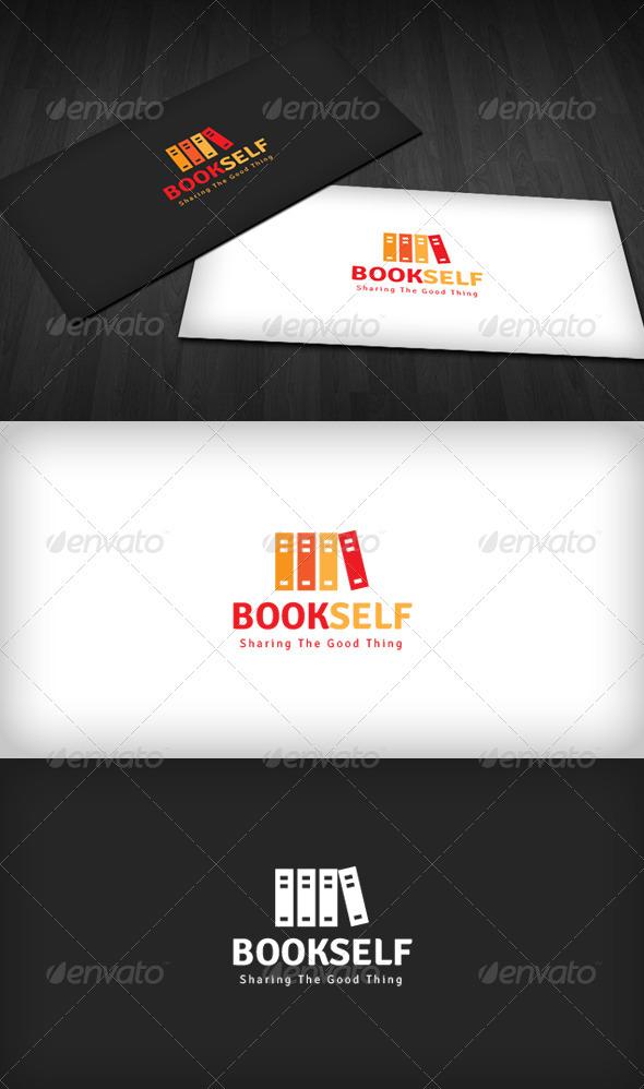 Bookshelf Logo - Symbols Logo Templates