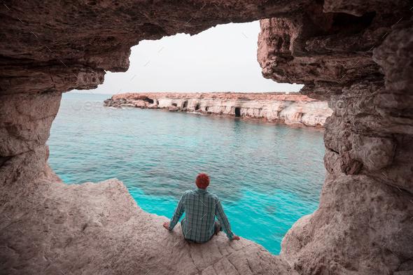 Cyprus coast - Stock Photo - Images