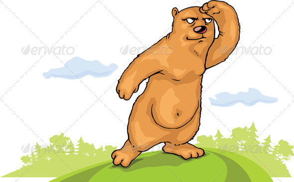 Watching Brown Bear - Animals Characters