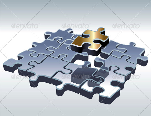 Jigsaw Puzzle - Concepts Business