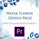 Watercolor Flower Design Pack - Essential Graphics - VideoHive Item for Sale
