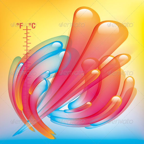 Temperature Splash - Backgrounds Decorative
