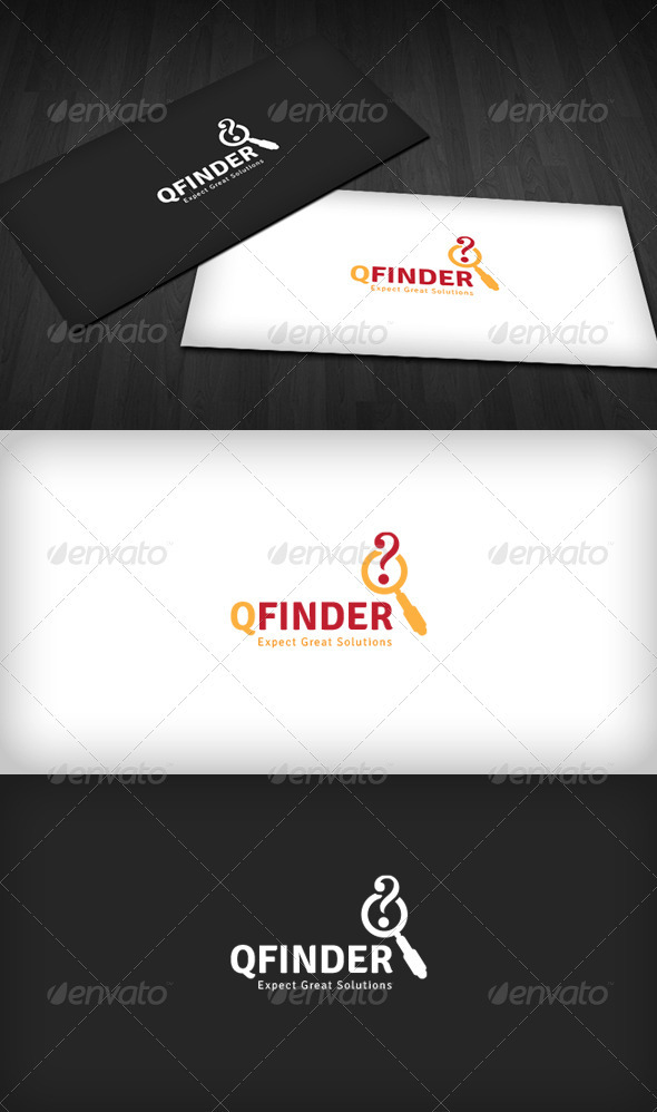 Question Finder Logo - Objects Logo Templates