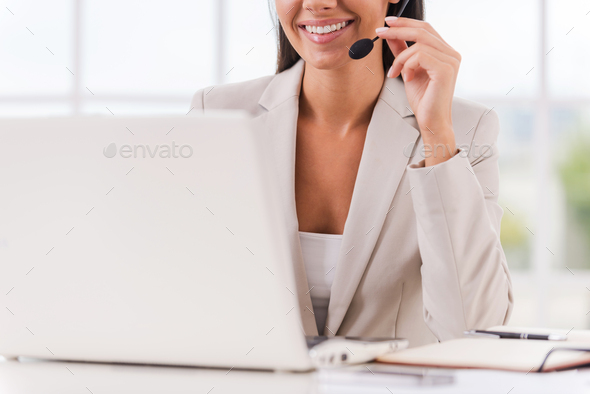 Always ready to help you. - Stock Photo - Images