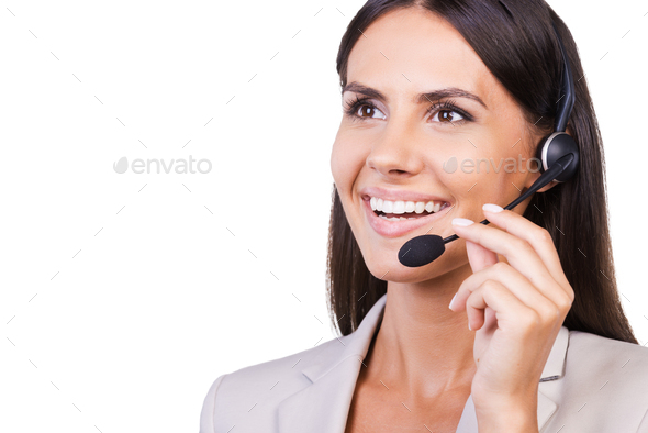 Always ready to help. - Stock Photo - Images