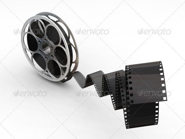 Film reel - Objects 3D Renders