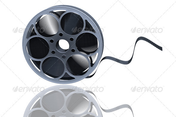 Film reel - Objects 3D Renders
