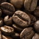 Brown roasted coffee beans close up full frame - PhotoDune Item for Sale