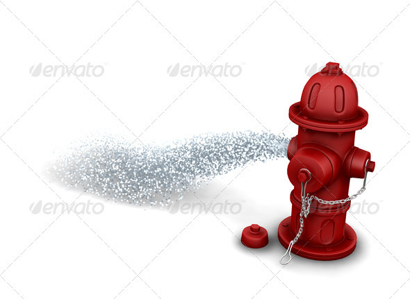Fire hydrant - Objects 3D Renders