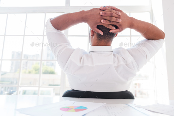 Time to relax. - Stock Photo - Images
