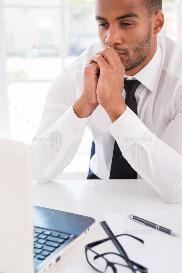 Thinking about solution. - Stock Photo - Images