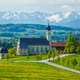 Church of Wilparting, Irschenberg, Upper Bavaria, Germany - PhotoDune Item for Sale
