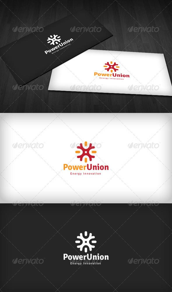 Power Union Logo - Vector Abstract