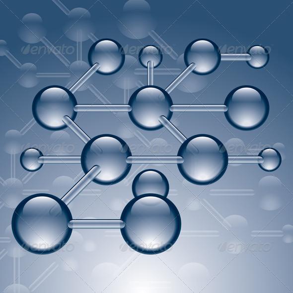 Molecules - Backgrounds Decorative