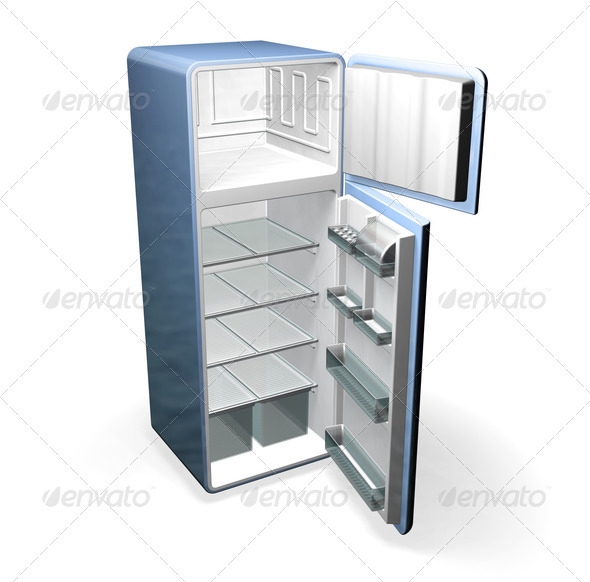 Fridge - Objects 3D Renders