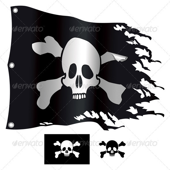 Jolly Roger - Decorative Symbols Decorative
